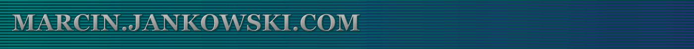 Logo and link to Marcin.Jankowski.com